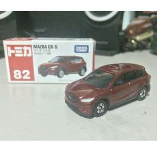 Tomica 82 Mazda CX5 red