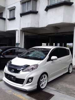 Visor bonet for Perodua alza