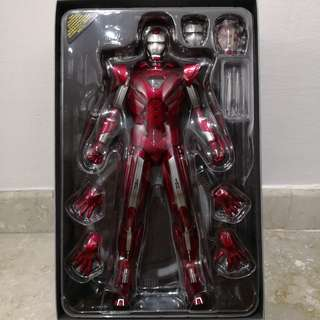 Hot Toys - Iron Man 3, Silver Centurion, MMS 213, 1/6 scale, 12 inch