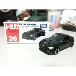 Tomica 26 Mazda Roadster / MX5