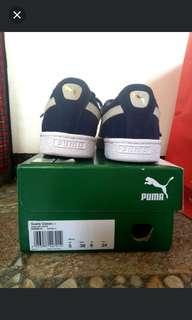 Puma classic suede (navy blue)