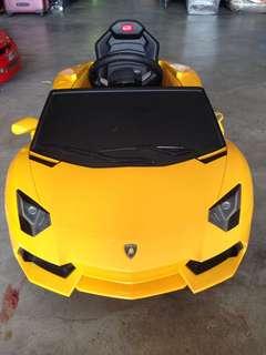 Lamborgini aventador batery car