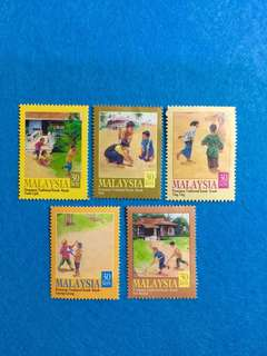 2000 Children's Traditionally Games 5V Used Set