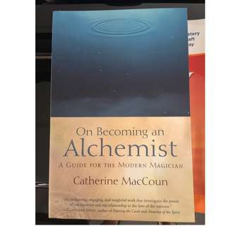 C266 BOOK - ON BECOMING AN ALCHEMIST