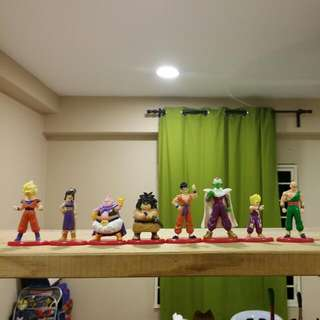 Dragon Ball Z characters figure with base II