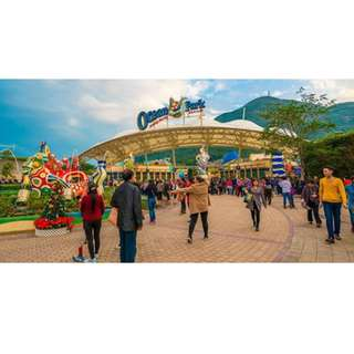 Ocean Park HongKong Full Day Pass