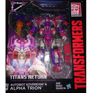 Transformers Titans Return Alpha Trion