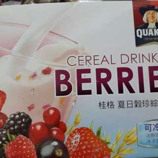🚚 好市多購♡桂格 夏日穀珍綜合莓果27包×5元