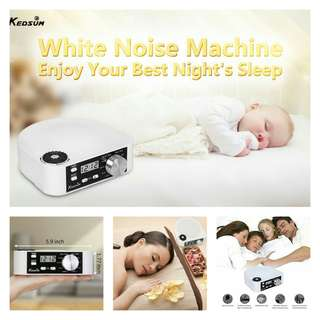 KEDSUM White Noise Machine, Sleep Sound Therapy System With 10 Natural Sounds, Sleep and Relax Well-Sleeping Sound Machine.