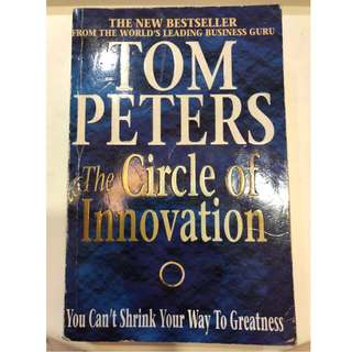C273 BOOK - THE CIRCLE OF INNOVATION TOM PETERS