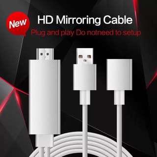 三用 HDMI 電視線 電視棒 隨插即用 支援蘋果 安卓 Type c 手機轉電視