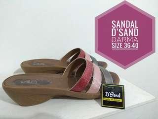 Sandal Darma Merk D'Sand - Size 36-40 - High Quality