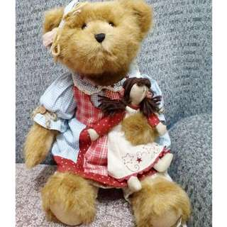 BOYDS Bear of the month collection limited edition series 42cm
