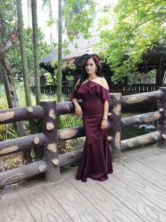 Used Once Formal Dress