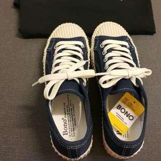 🚚 正韓 餅乾鞋(海軍藍240)