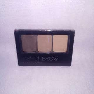 Maybelline Fashion Brow 3D Brow & Nose Palette - Dark Brown