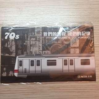 港鐵卡片3張 (收藏)