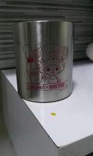One Piece stainless steel mug