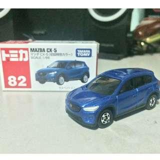 Tomica 82 Mazda CX5 Blue