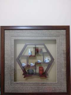 Chinese miniature clays frame
