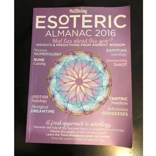 C282 BOOK - ESOTERIC ALMANAC 2016