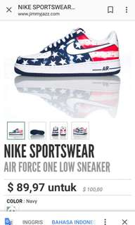 NIKE SPORTSWEAR Air force one low sneaker