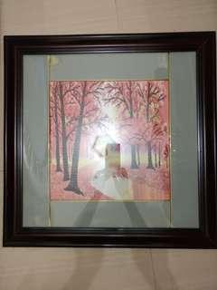 Hand craft frame
