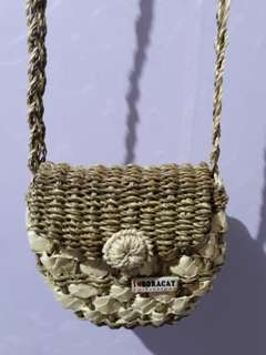 Sling bag made from Abaca ( from Boracay )