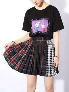 <PO> Korean Street Pleated Skirt (ZR)