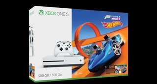 Xbox One Slim Forza Horizon 3 + Hot wheels bundle (BNIB)