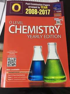 olevel pure chemistry yearly 2008-2017
