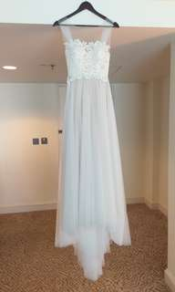 Wedding Gown (Used) 婚紗