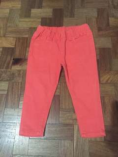 Zap Tangerine Pants