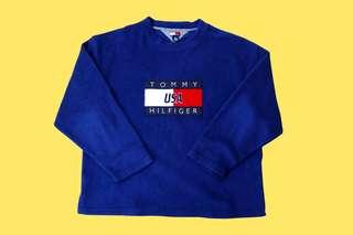 Rare Vintage Tommy Hilfiger Big Logo Sweatshirt