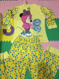 Baju tidur Minnie Mouse