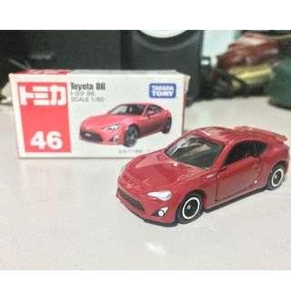 Tomica 46 Toyota 86