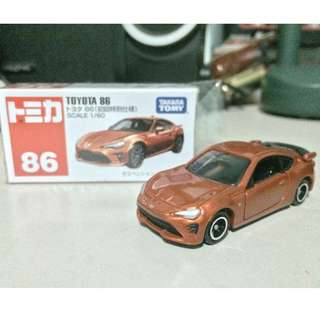 Tomica 86 Toyota 86