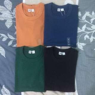 UNIQLO U Women Crew Neck Short Sleeve T-Shirt Bundle