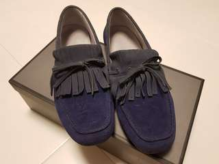 Mens smart casual moccasin