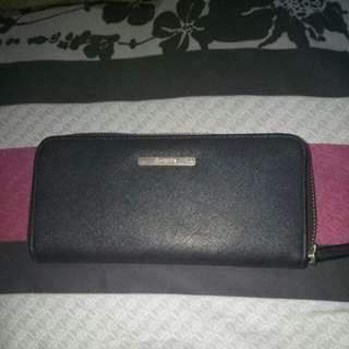 Black Wallet Bershka