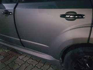 Car door bumper guard protector non-tape type