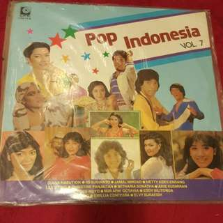 LP/ Vinyl Pop Indonesia Piring Hitam
