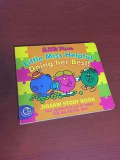 little miss helpful jigsaw book