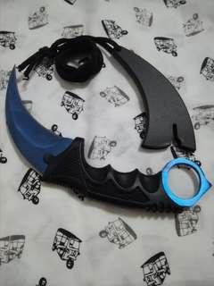 Karambit csgo blue knife curve