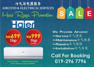 Brand new aircond Haier