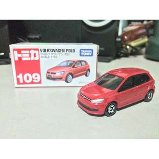 Tomica 109 Volkswagen Polo Red