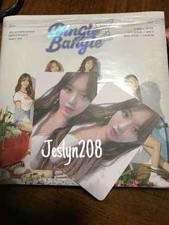 [WTS//WTT] AOA Bingle Bangle Photocard + Album