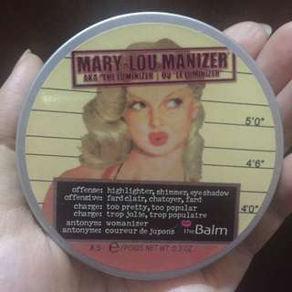 The balm highlighter - mary lou manizer