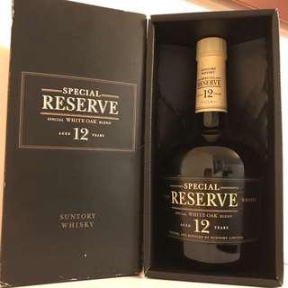 三得利威士忌 12年