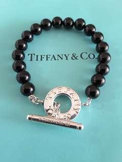 Tiffany and Co Onyx Toggle Bracelet